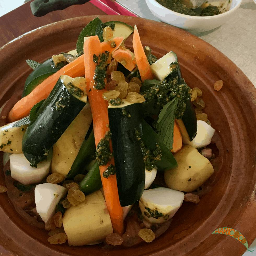vegetable tagine pre cooking