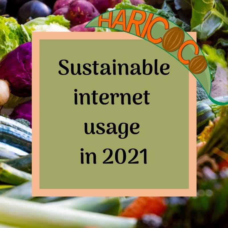 sustainable internet usage
